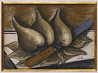 Still Life with Figs, c.1924 (pastel on paper) , a