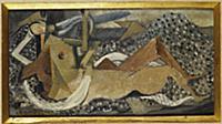 Bather, 1929 (oil on canvas) , artist: Braque, Geo