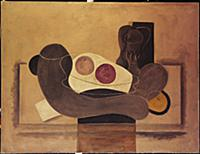 The Grey Apples (oil on canvas) , artist: Braque,