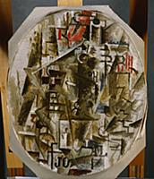 The Bottle of Rum, 1912 (oil on canvas) , artist: