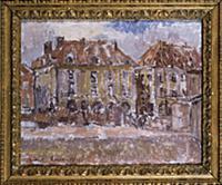 Dieppe, 1903 (oil on canvas), artist: Sickert, Wal