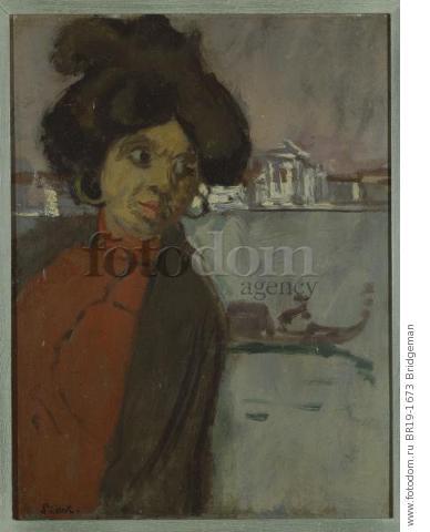 Inez on the Zattere (oil on panel) , artist: Sickert, Walter Richard (1860-1942)