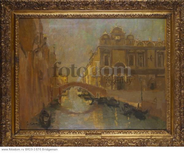 The Scuola di San Marco, Ospedale Civile, c.1895-96 , artist: Sickert, Walter Richard (1860-1942)