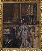 Chicken, c.1908 (oil on panel) , artist: Sickert,