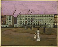 L'Hotel Royal, Dieppe, c.1894 (oil on canvas) , ar