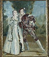 La Ci Darem La Mano - Don Giovanni, 1937 (oil on c
