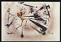 Don Quixote Wounded, 1964 (w/c, brush & ink on pap