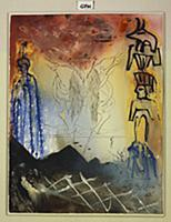 Moses and Monotheism, 1974 (gouache, w/c, coloured