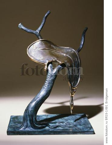 Profile of Time, 1984 (bronze with green & brown patina) , artist: Dali, Salvador (1904-89)