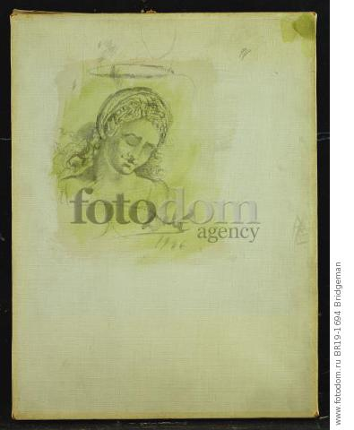 Madonna, 1946 (w/c on canvas) , artist: Dali, Salvador (1904-89)