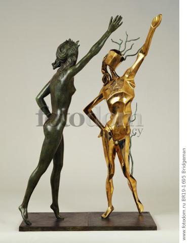 Homage to Terpsichord (The Dance) 1984 (bronze) , artist: Dali, Salvador (1904-89)
