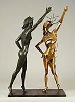 Homage to Terpsichord (The Dance) 1984 (bronze) ,