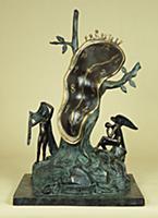 The Profile of Time, 1984 (bronze) , artist: Dali,