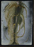 The Angel of Alchemy, 1974 (gouache & gold paint o