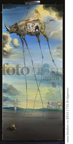 Celestial Ride, 1957 (oil on canvas) , artist: Dali, Salvador (1904-89)