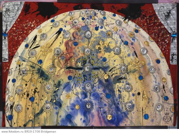 Design for the Harkness Ballet, 1966 (w/c, pen & black ink on paper) , artist: Dali, Salvador (1904-89)