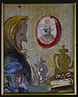 The Witch and the Mirror, 1966 (w/c & gouache on p