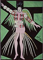 Design for the Harkness Ballet, 1966 (gouache, w/c