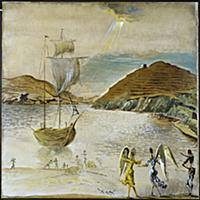 The Arrival (Port Lligat) 1950 (oil on canvas) , a