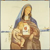 The Madonna and the Mystical Rose, 1963 (oil on ca