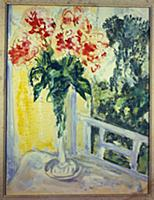 Peonies (w/c on paper) , artist: Chagall, Marc (18