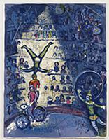 Circus, 1967 (litho) , artist: Chagall, Marc (1887