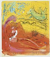 Pont Marie, 1945-50 (gouache, w/c, pastel, pen & i