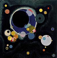 Several Circles, 1926 (oil on paper laid on canvas