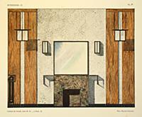 Cabinet de travail II, chez M. R.., a Paris, illus