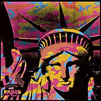 Statue of Liberty, 1986 (synthetic polymer & silks