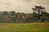 Pound Field, Cookham, 1935 (oil on canvas) , artis