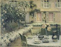 The Table in the White Garden at Gerberoy, 1900 (o