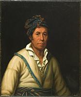 HGH3359385 Tooan Tuh (Cherokee), 1832В–33 (oil on