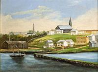 HGH3359373 Landscape of Bunker Hill, after 1862 (o