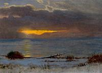 HGH3359388 Sunrise on Lake Tahoe, California, 1872