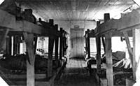 Perm, Siberia, USSR 1943, Interior of Barracks for