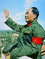 Китайский государственный и политический деятель Мао Цзэдун