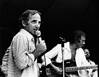 3617406 Charles Aznavour performs in concert, 1950