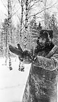 1148194 Fidel Castro In A Forest Near Moscow Durin
