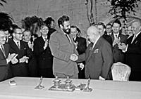 1148759 Nikita Khrushchev And Fidel Castro After S
