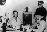 1717735 Fidel Castro during his interrogation afte