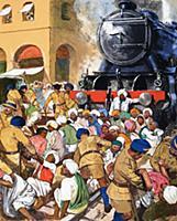 LAL298335 Gandhi\'s non-violent resistance by Engl