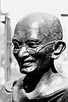 1065094 Mahatma Gandhi bronze statue, Mumbai, Maha