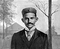 2634947 Mahatma Gandhi in South Africa, 1895 (heav