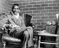 2634952 Mahatma Gandhi recuperating after having b