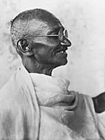 1583349 Indian leader Mahatma Gandhi, India, May,