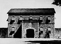 2336077 The prison where Gandhi was imprisoned; (a