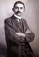2911002 Mahatma Gandhi as a lawyer in South Africa