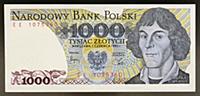 2584694 1000 zloty banknote, 1982, obverse, Nicola