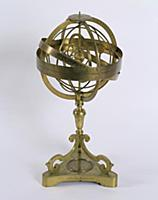 ALG166528 An Armillary Sphere of the Copernican sy